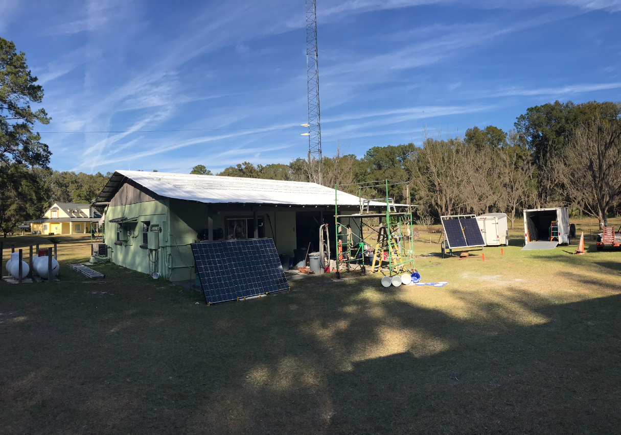 Solar Shop Rebuild 2019 Before PV install